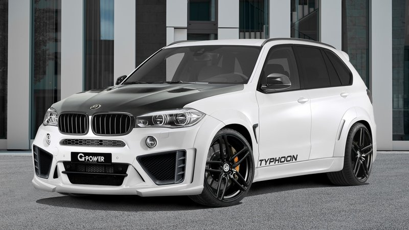 2016 BMW X5 M Typhoon by G-Power