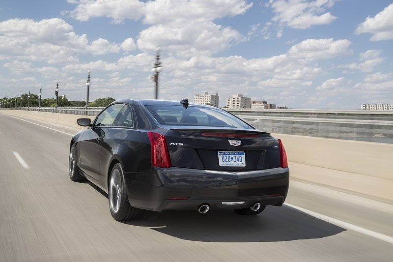 2017 Cadillac ATS Coupe Carbon Black Sport Package