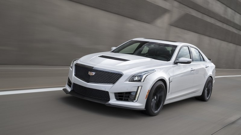 2017 Cadillac CTS-V With Carbon Black Sport Package