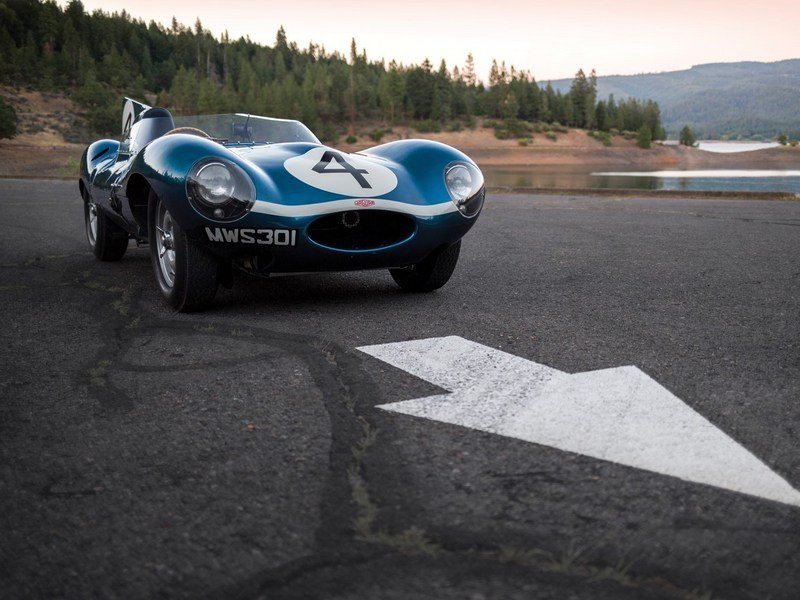 Le Mans-Winning Jaguar D-Type To Be Auctioned In Monterey