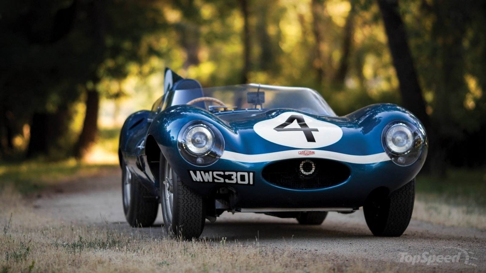 Le Mans Winning Jaguar D Type To Be Auctioned In Monterey