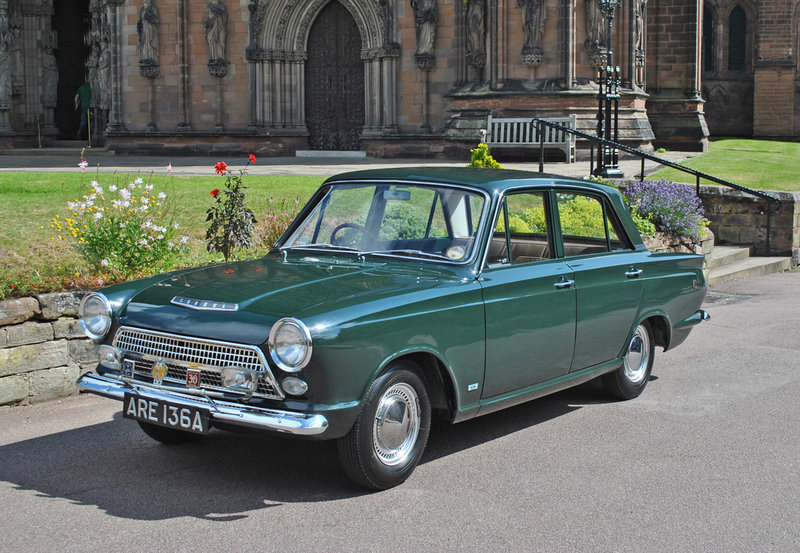 "1963 Ford Cortina ""Green Goddess"""