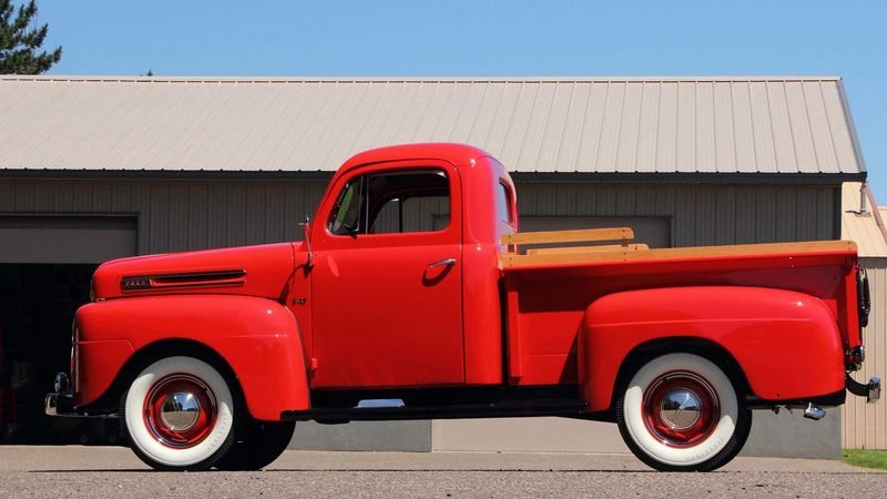 1950 Ford F47 Pickup High Resolution Exterior - image 683334
