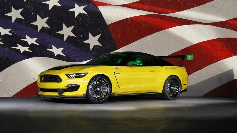 "2016 Ford ""Ole Yeller"" Mustang Shelby GT350"