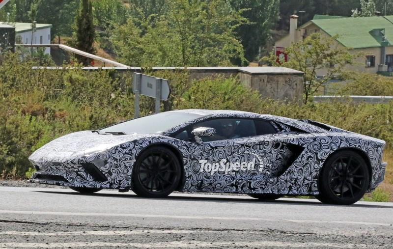 2018 Lamborghini Aventador S Top Speed