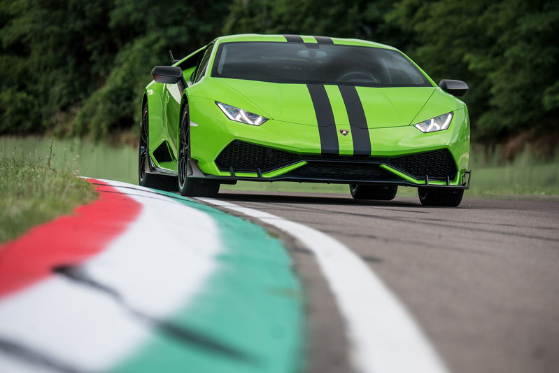 Lamborghini Huracan with After Sales Packages