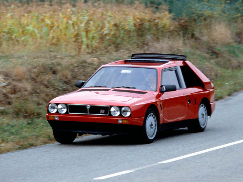 1985 Lancia Delta S4 Stradale High Resolution Exterior - image 682775