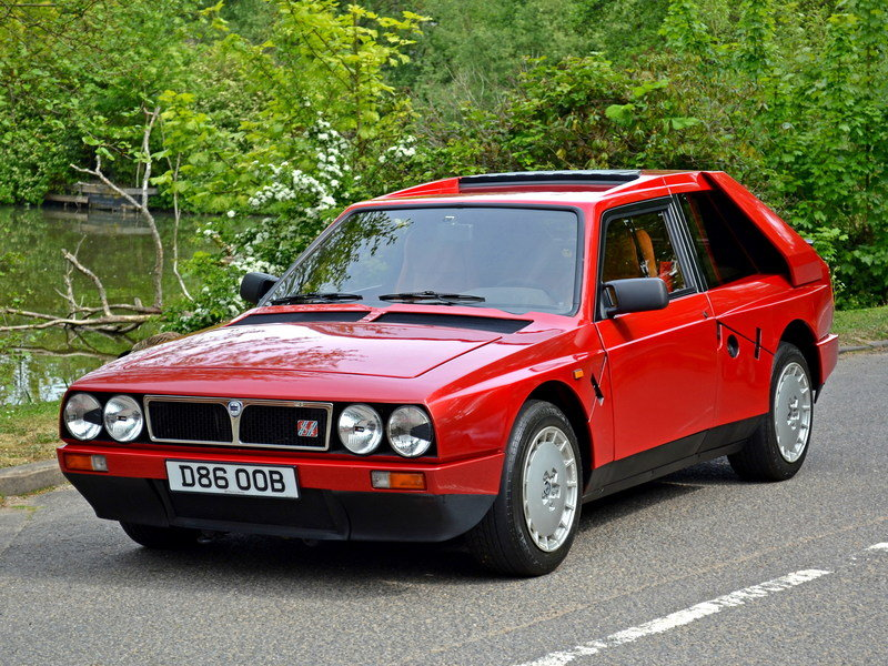 1985 Lancia Delta S4 Stradale High Resolution Exterior - image 682777