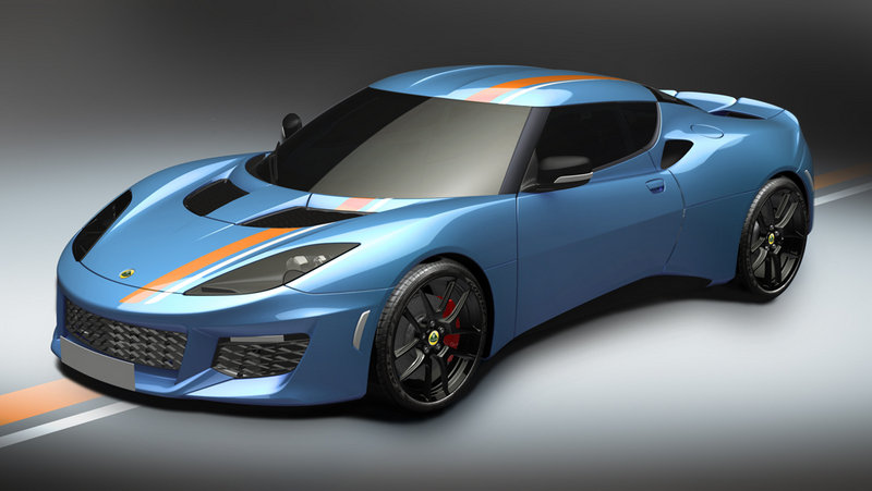 2016 Lotus Evora 400 Blue & Orange Edition
