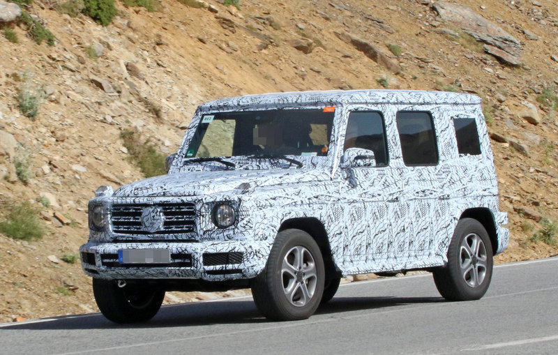 2019 Mercedes-Benz G-Class High Resolution Exterior Spyshots - image 683652