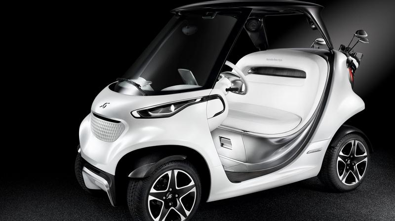 2016 Mercedes-Benz Style Edition Garia Golf Car