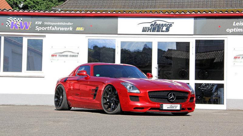 2016 Mercedes SLS AMG By RK Tuning