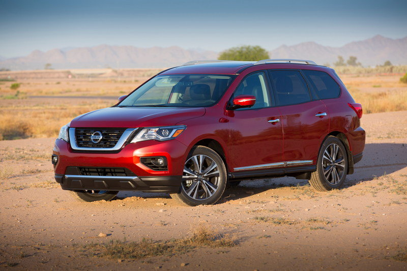 2017 Nissan Pathfinder High Resolution Exterior - image 681941