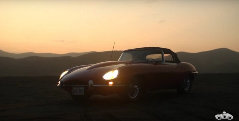 Peruvian Man Professes His Love For His Jaguar E-Type: Video