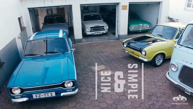 "Petrolicious Focuses German Collector Who Likes His Ford Collection ""Nice and Simple:"" Video"