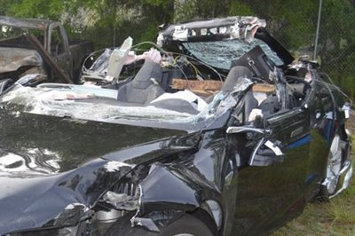 Tesla Comes up with Another Excuse for the Fatal Model S Accident