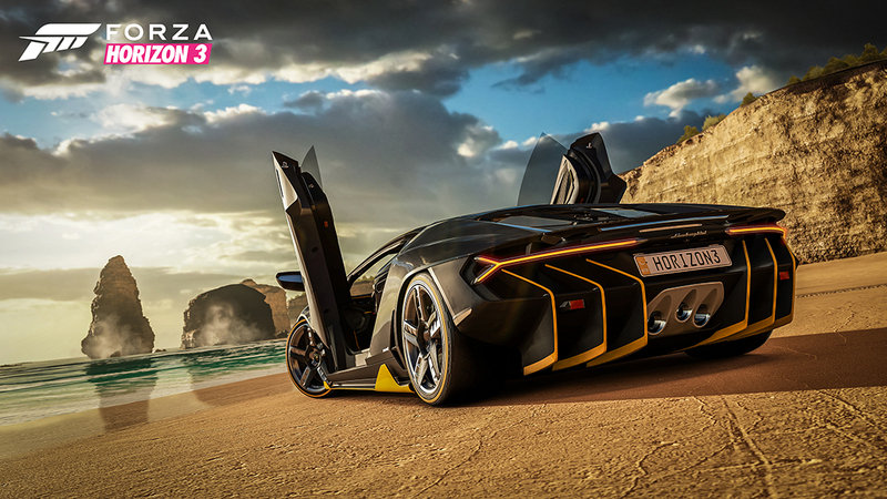 The First List of Cars for Forza Horizon 3 has Been Announced