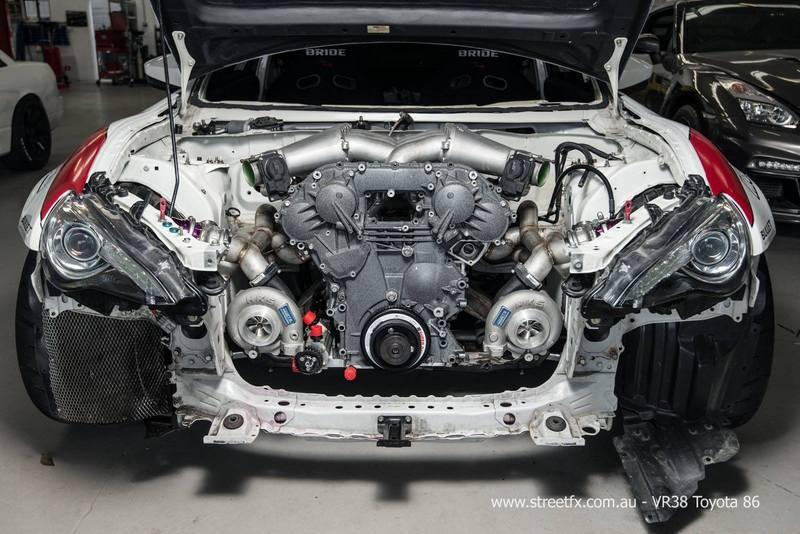 2016 Toyota GT 86 By Street FX High Resolution Drivetrain - image 682666