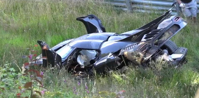 What Happened To The Koenigsegg One:1 When It Crashed In The Nurburgring?