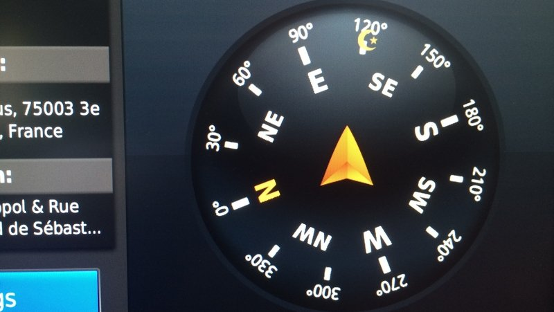 "Why is the new E-Class showing ""Qibla"" on its new Compass? Because Middle-East..."