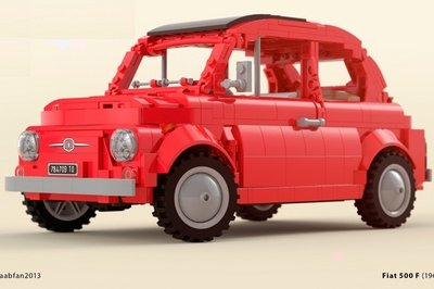 1,157-Piece 1968 Fiat 500 F Lego Kit Could Become Reality if You Vote for it