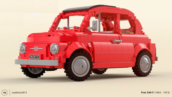 1 157-piece 1968 fiat 500 f lego kit could become reality if you vote for it - DOC686805