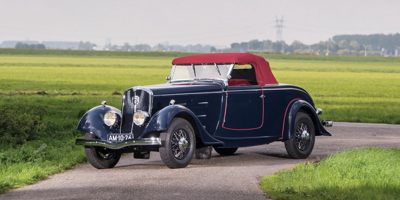 1932 Bentley 8-Litre Tourer