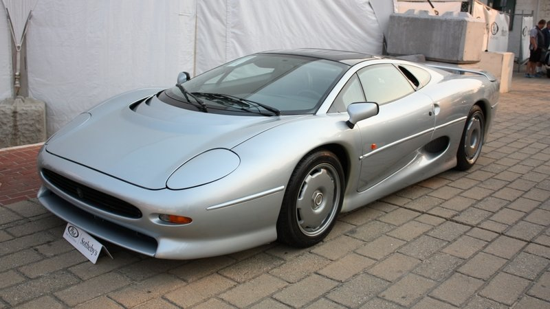 Bridgestone To Begin Offering New Tires For The Jaguar XJ220