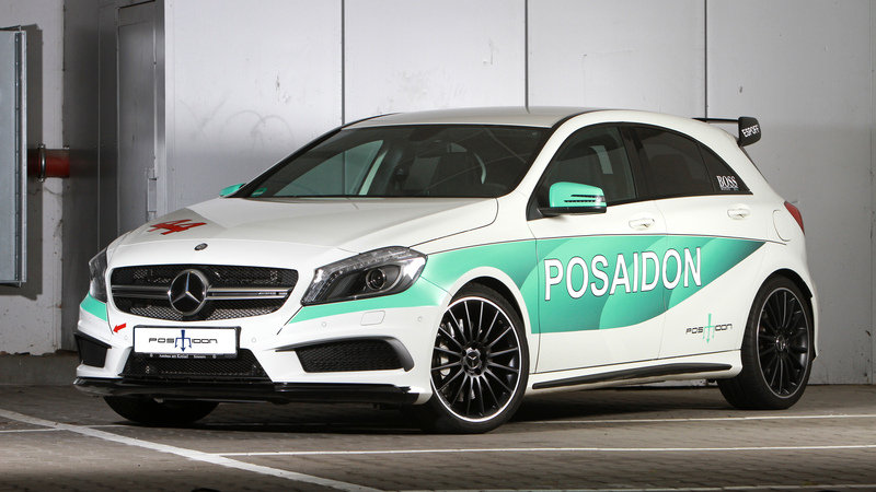 2016 Mercedes-AMG A45 RS485+ By Posaidon