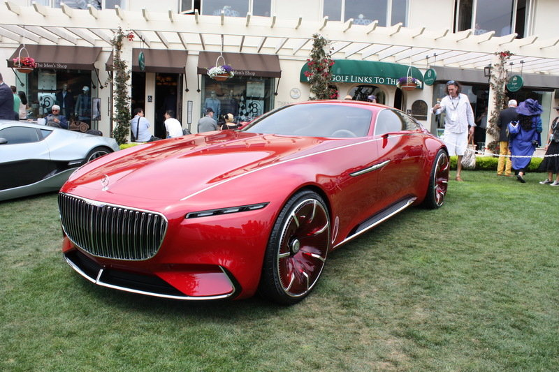 2016 Mercedes-Maybach Vision 6 High Resolution Exterior AutoShow - image 685666