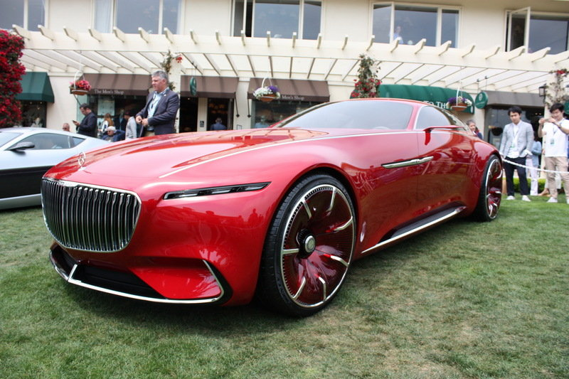 2016 Mercedes-Maybach Vision 6 High Resolution Exterior AutoShow - image 685683