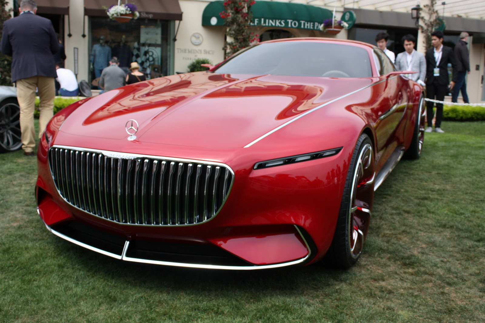 2016 mercedes maybach vision 6 picture 685684 car review top speed. Black Bedroom Furniture Sets. Home Design Ideas