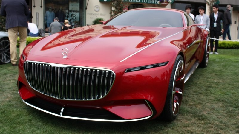 2016 Mercedes-Maybach Vision 6