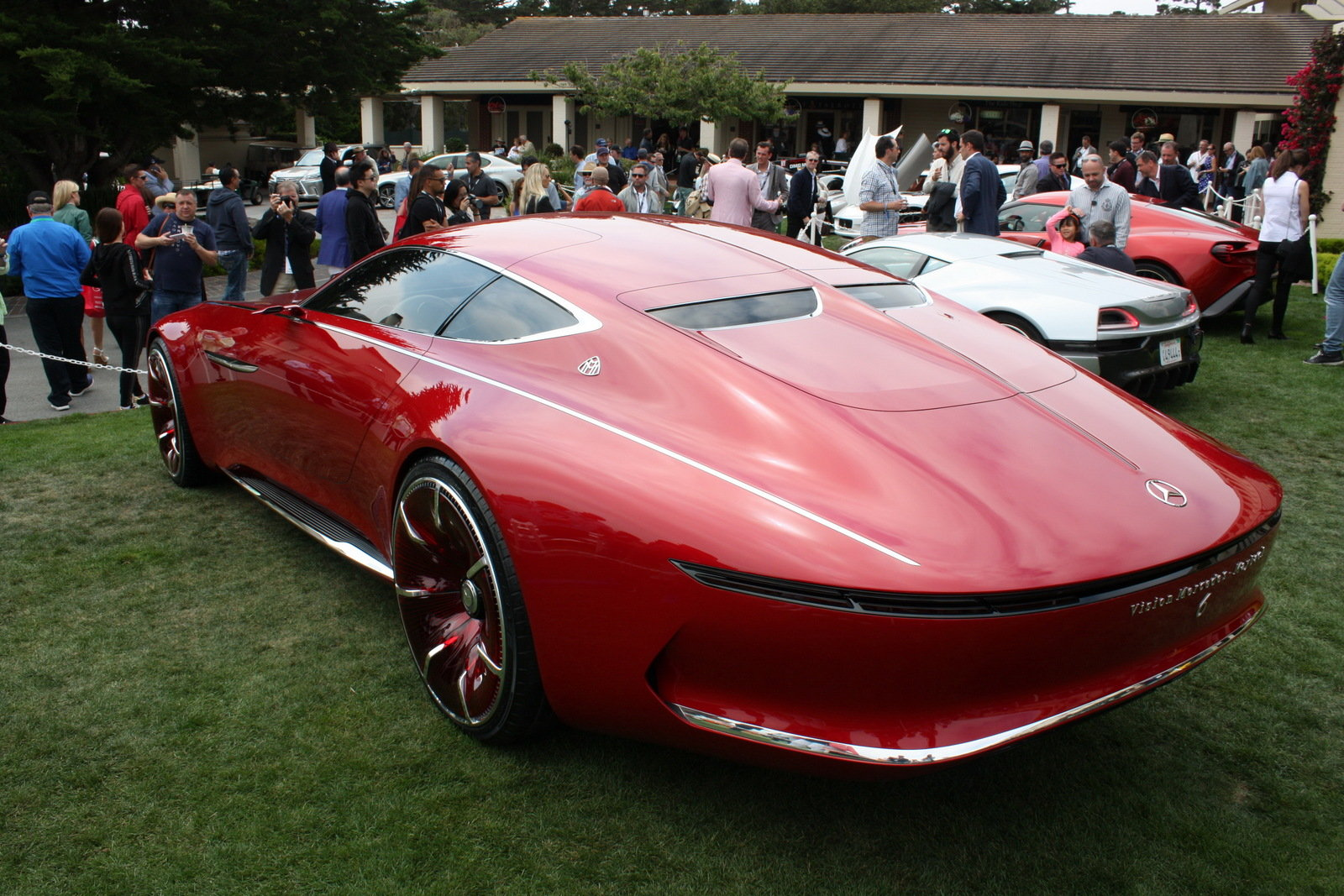 2016 mercedes maybach vision 6 picture 685657 car review top speed. Black Bedroom Furniture Sets. Home Design Ideas