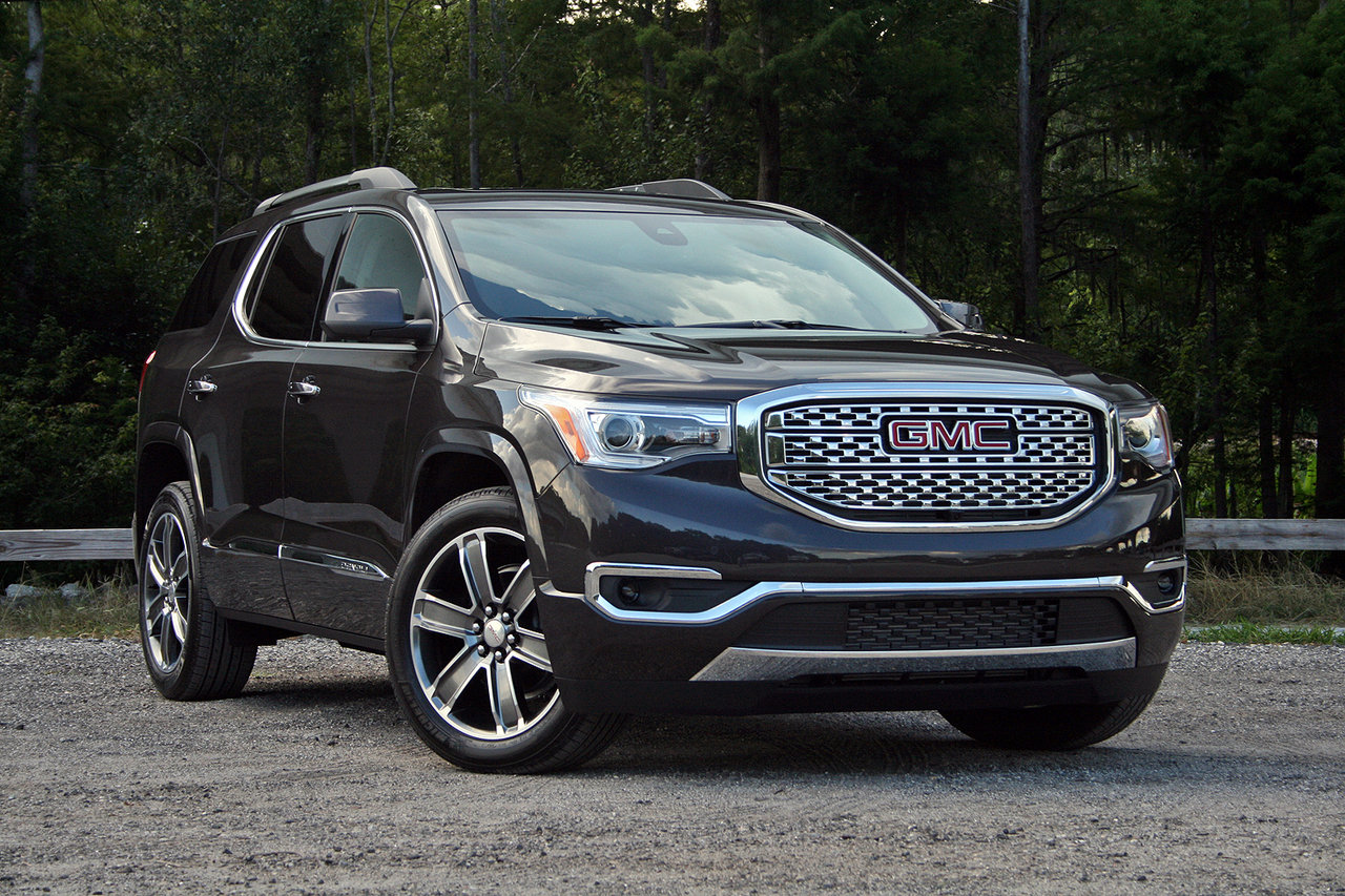 2017 gmc acadia denali driven picture 686388 truck review top speed. Black Bedroom Furniture Sets. Home Design Ideas