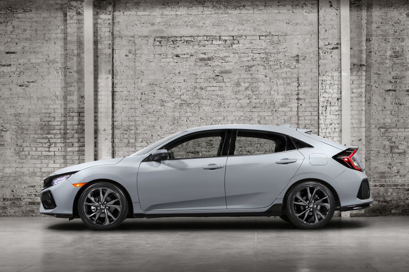 2017 Honda Civic Hatchback High Resolution Exterior - image 684923