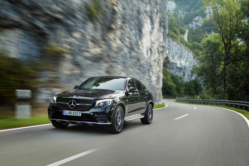 2017 Mercedes-AMG GLC43 Coupe High Resolution Exterior - image 686943