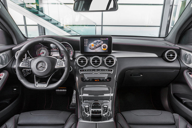2017 Mercedes-AMG GLC43 Coupe High Resolution Interior - image 686953