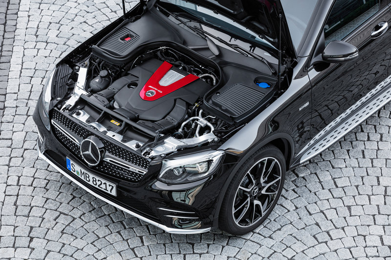 2017 Mercedes-AMG GLC43 Coupe High Resolution Drivetrain - image 686958