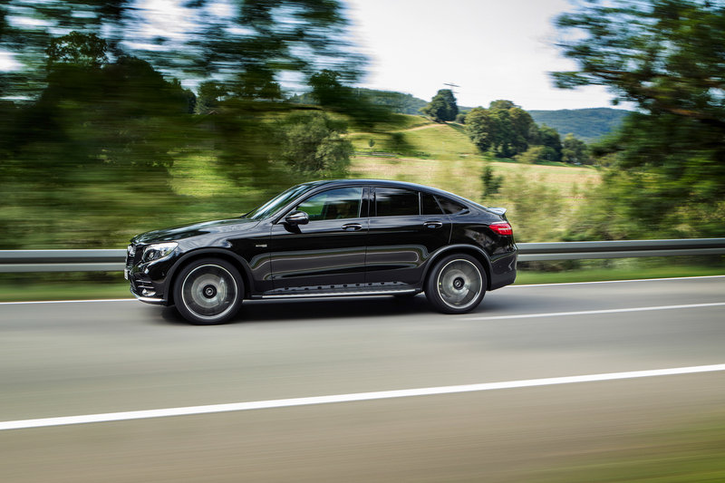 2017 Mercedes-AMG GLC43 Coupe High Resolution Exterior - image 686939