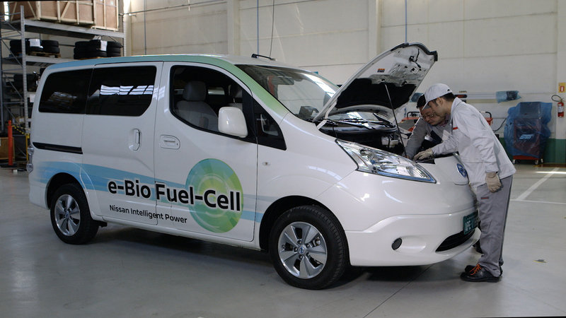 2017 Nissan Solid-Oxide Fuel Cell NV200 Van