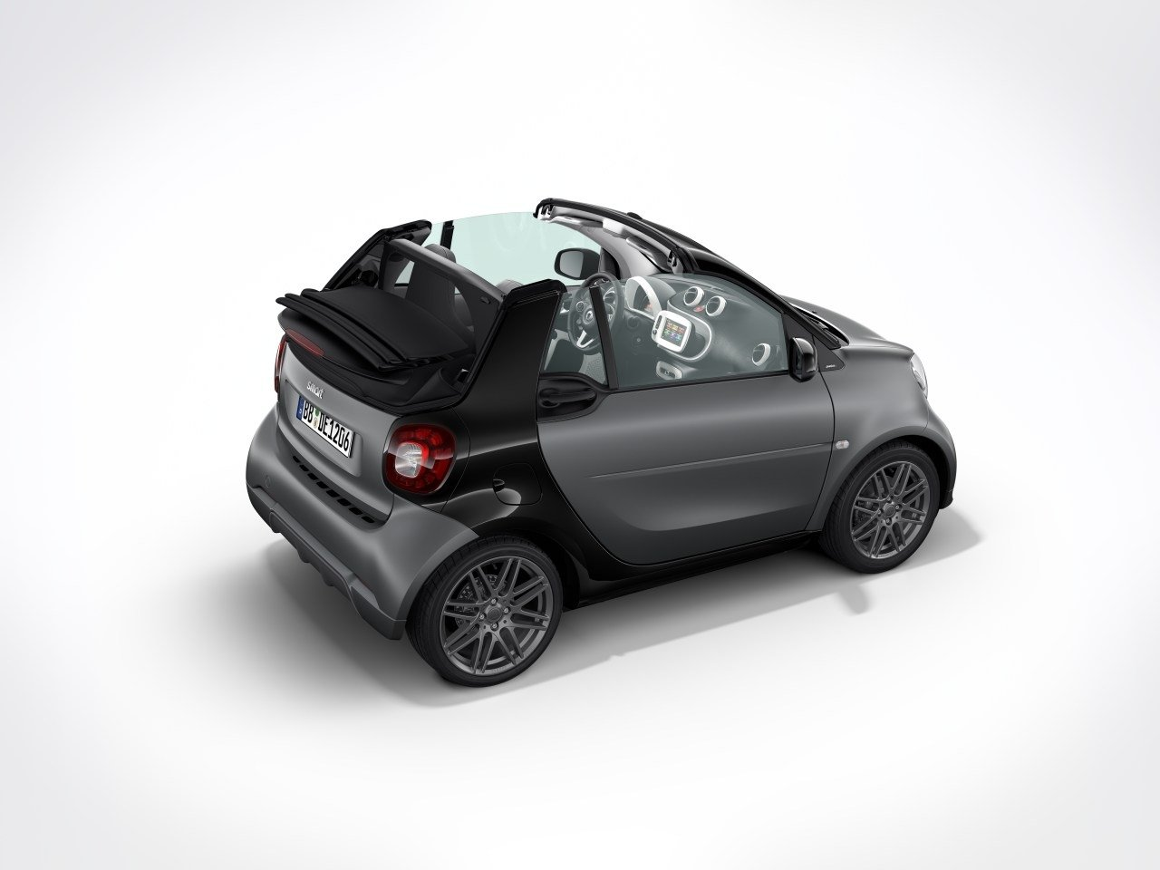 2017 smart fortwo sport package by brabus picture 684001 car review top speed. Black Bedroom Furniture Sets. Home Design Ideas