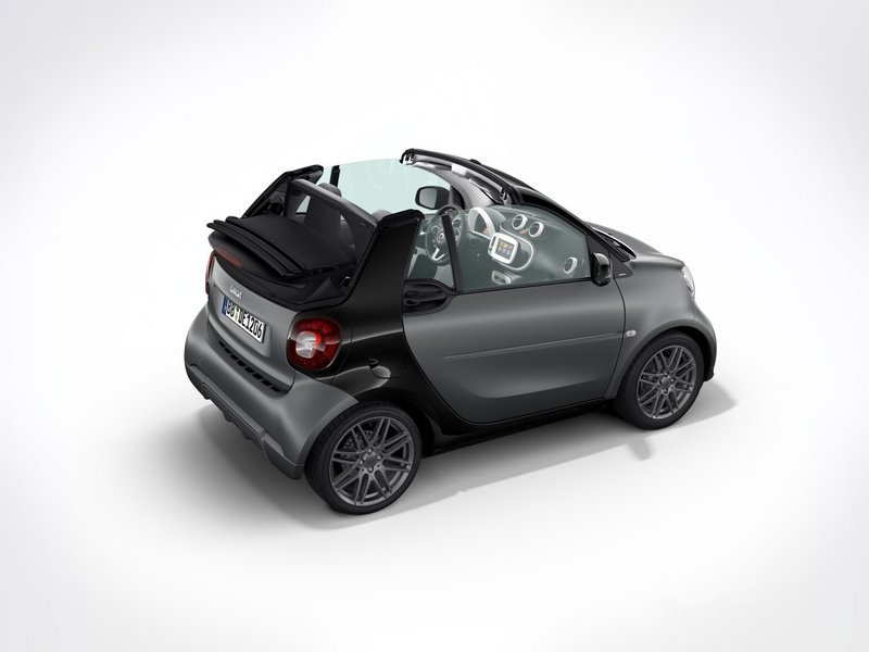 2017 Smart Fortwo Sport Package by Brabus