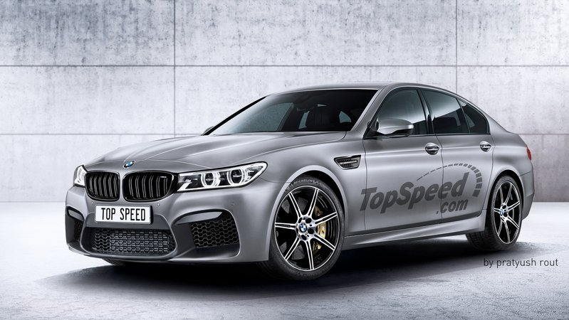 2018 BMW M5 Exterior Exclusive Renderings Computer Renderings and Photoshop - image 684845