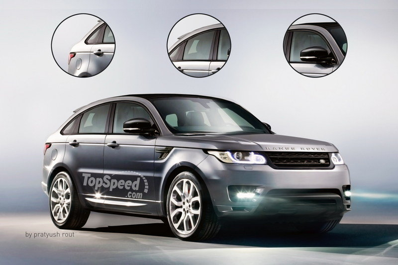 2018 Land Rover Range Rover Sport Coupe Exterior Exclusive Renderings Computer Renderings and Photoshop - image 685255