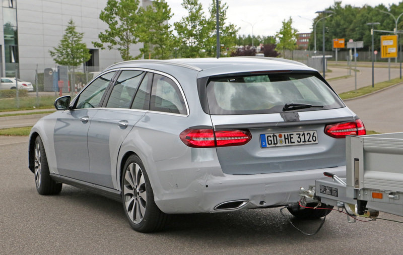 2018 Mercedes-Benz E-Class All-Terrain High Resolution Exterior Spyshots - image 683836