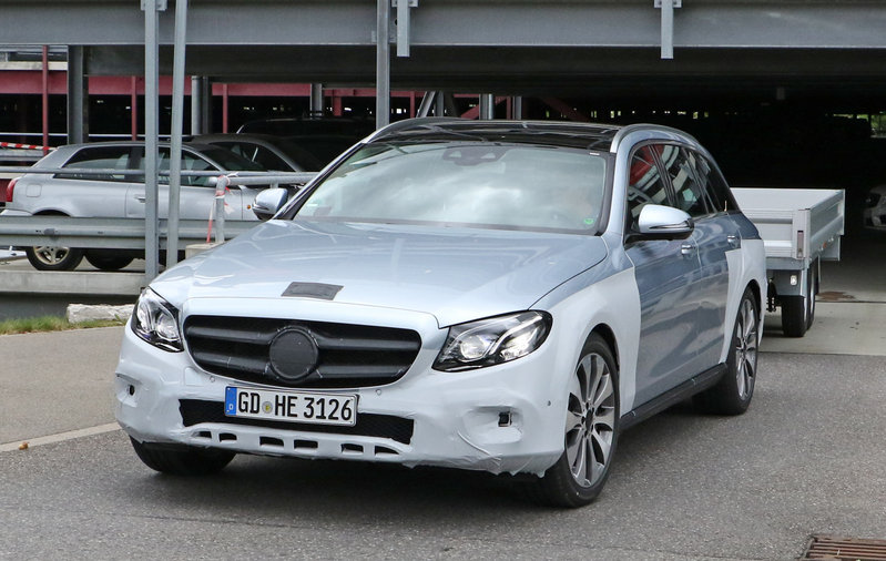 2018 Mercedes-Benz E-Class All-Terrain High Resolution Exterior Spyshots - image 683841