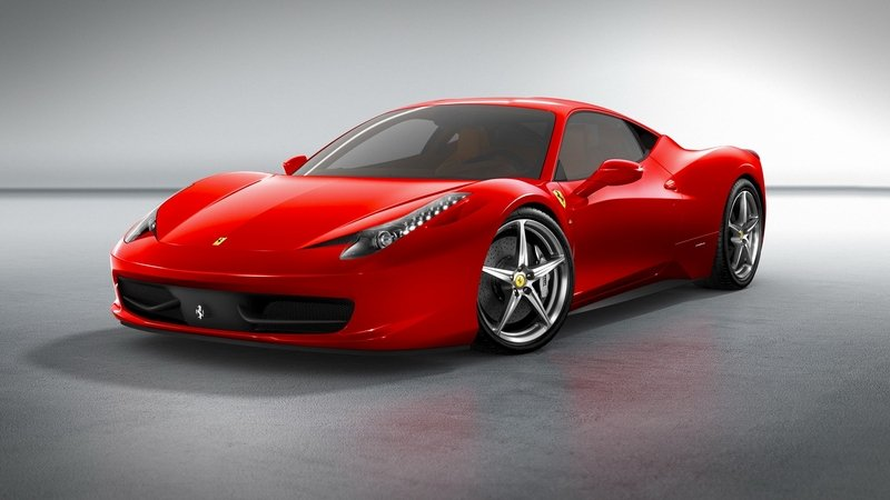 Acura Buys a Ferrari 458, Examines it, then Cuts it up and Throws it Away