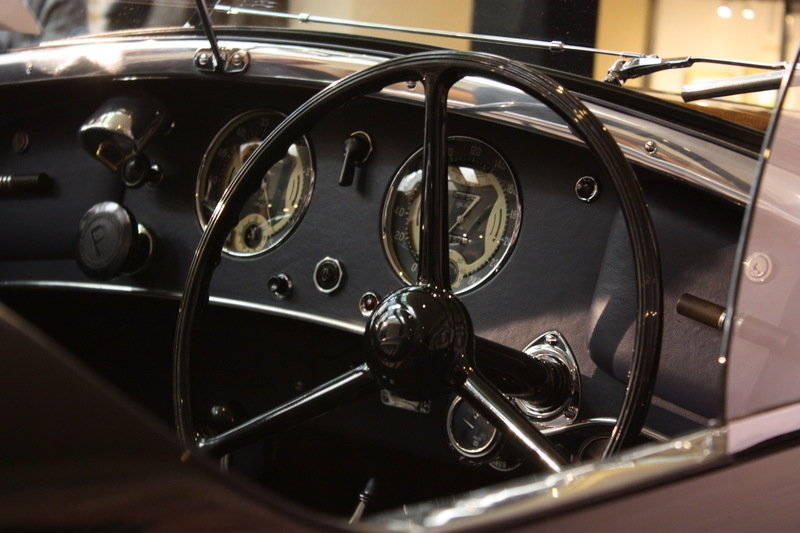 1939 Alfa Romeo 8C 2900B Lungo Spider High Resolution Interior AutoShow - image 686233