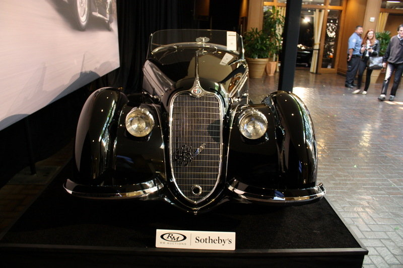 1939 Alfa Romeo 8C 2900B Lungo Spider High Resolution Exterior AutoShow - image 686216